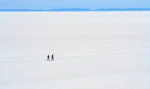 Salaar de Uyuni, Bolivia.